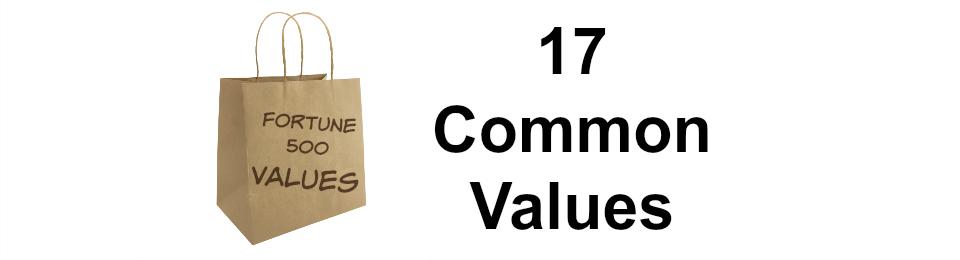 17 Common Values