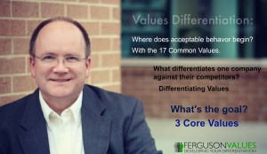 Values Differentiation