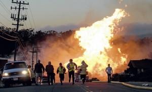 San Bruno explosion2 - Sept 9-2010