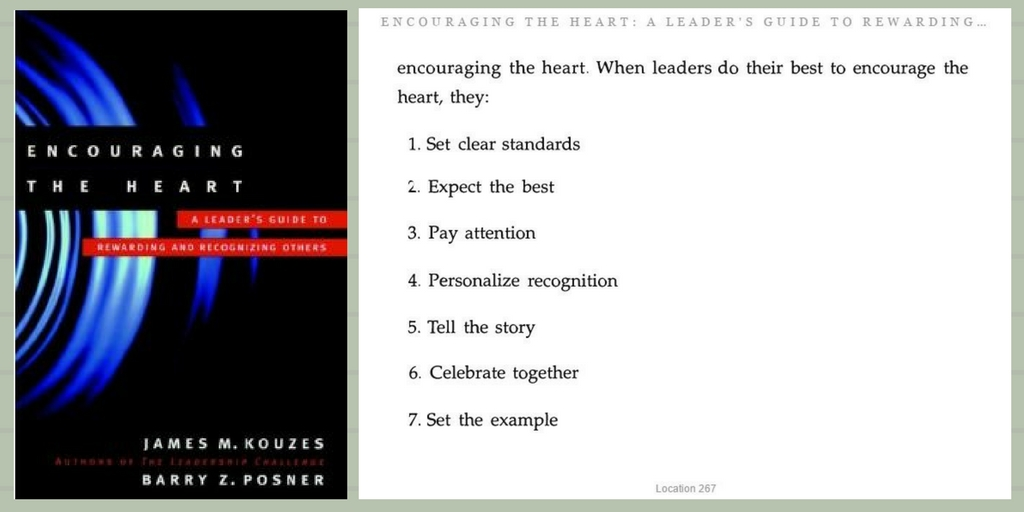 Encouraging the Heart - Part 2 - 7 essentials of encouragement
