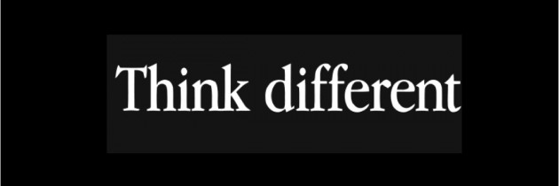 Learning How To Think Different
